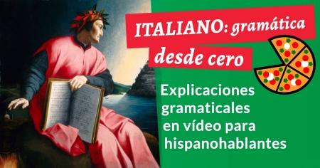 Curso de gramática italiana
