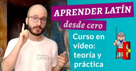 Curso de latín desde cero: analiza y traduce desde el primer módulo