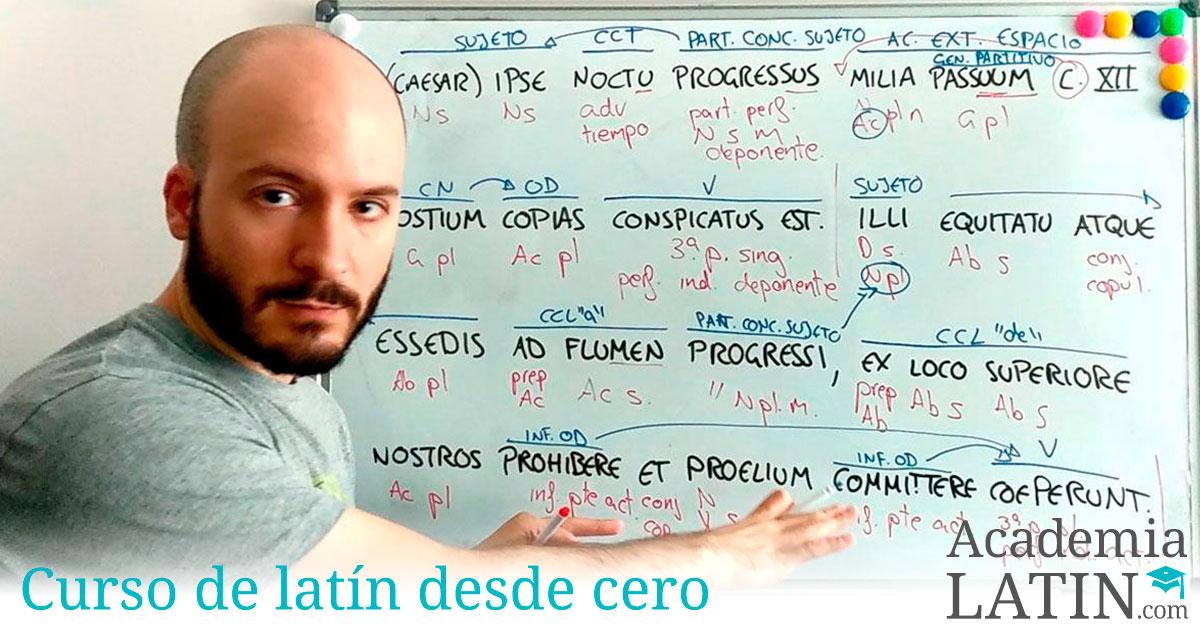 Minicurso de latín desde cero