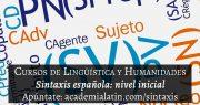 Curso de sintaxis española: nivel inicial