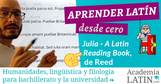 Julia - A Latin Reading Book, de Reed: latín muy fácil ‹ Practica latín