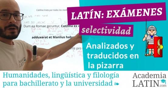 Exámenes de selectividad de Latín