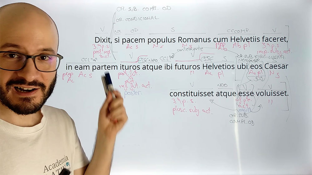 ¡Prácticas de latín y griego revisadas y explicadas paso a paso en la pizarra!