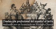 Traducir texto del español al latín