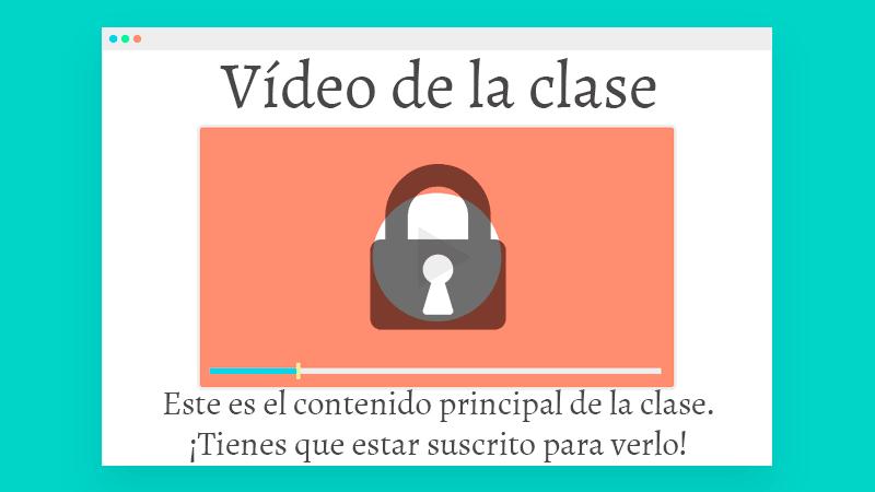 Vídeo de la clase: este es el contenido principal de la clase: ¡tienes que estar suscrito para verlo!