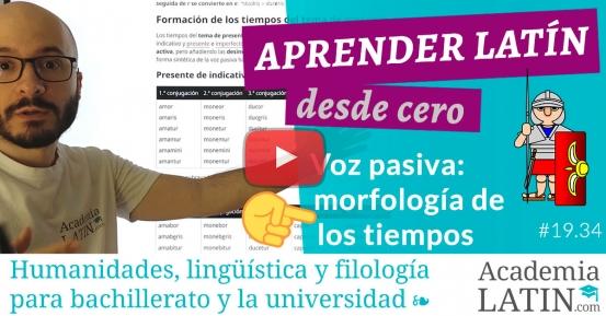 Curso de latín desde cero #19.34: La voz pasiva